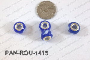 Pandora beads 14x10mm 5mm hole PAN-ROU-1415