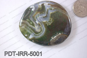 Agate Pendant Irregular 50mm PDT-IRR-5001