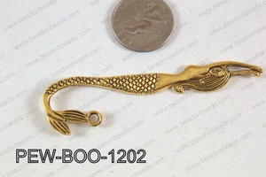 Pewter Bookmark Gold 80x12mm PEW-BOO-1202