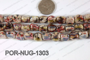 Porcelain Nugget 13mm POR-NUG-1303