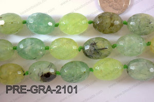 Prehnite Grape Faceted 21x17mm PRE-GRA-2101