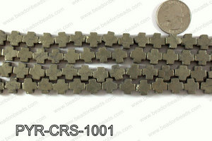 Pyrite cross 10x10mm PYR-CRS-1001
