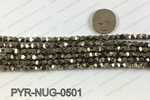 Pyrite nugget 5x5mm PYR-NUG-0501