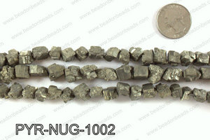 Pyrite nuggets 10x10mm PYR-NUG-1002