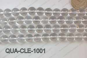 Clear Quartz Round 10mm QUA-CLE-1001