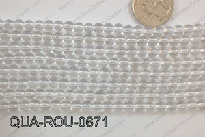 Quartz Round 6mm QUA-ROU-0671