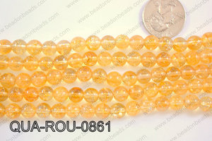 Quartz Round 8mm QUA-ROU-0861