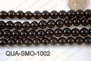 Smoky Quartz Round 10mm QUA-SMO-1002