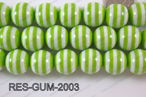 Bubble Gum Bead 20mm RES-GUM-2003