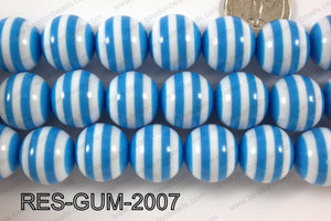 Bubble Gum Bead 20mm RES-GUM-2007