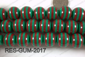Resin gumball 20mm purple RES-GUM-2017