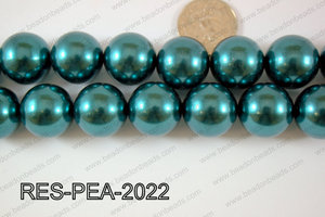 Resin Pearl Round 20mm Red RES-PEA-2022