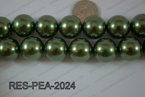 Resin Pearl Round 20mm purple RES-PEA-2024