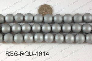 Acrylic Round Silver 16mm RES-ROU-1614