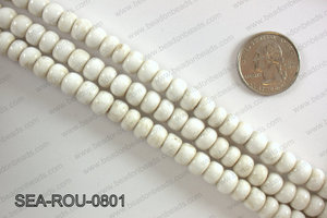 Sankas beads 8mm SEA-ROU-0801