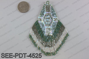Seed bead pendant 110mm SEE-PDT-4525