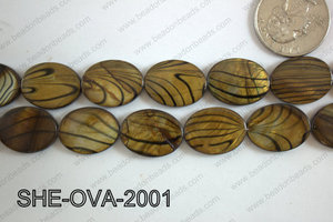 Shell Oval 15x20mm SHE-OVA-2001