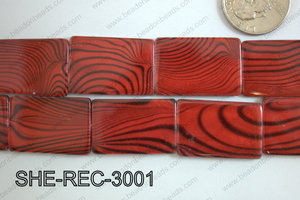 Shell Rectangle 20x30mm SHE-REC-3001
