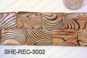 Shell Rectangle 20x30mm SHE-REC-3002