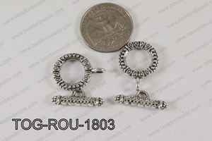 Round Toggle 18mm TOG-ROU-1803