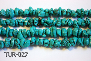 Turquoise Medium Chips TUR-027