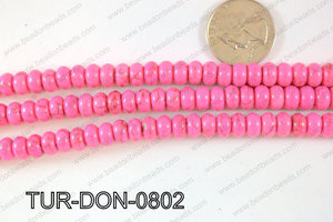 Howlite Donut 8mm TUR-DON-0802