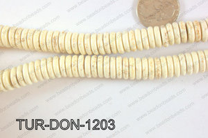Howlite Donut 12mm TUR-DON-1203