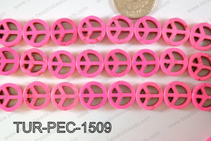 Howlite Peace 15mm TUR-PEC-1509