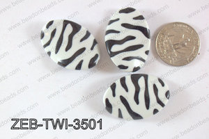 Zebra Twisted 25x35mm ZEB-TWI-3501